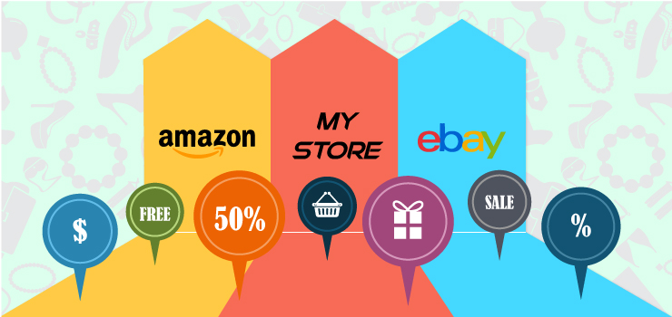 Amazon vs eBay vs My Own Store – Where to Start Selling Online