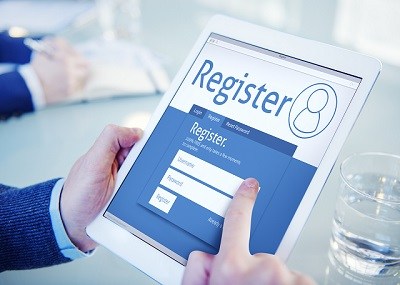 Persuade customers to register