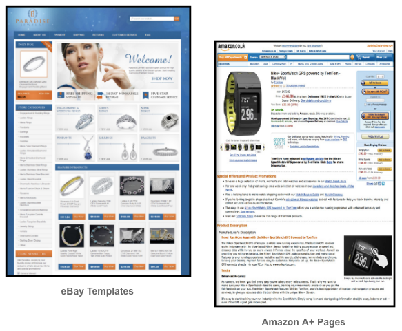 eBay Templates and Amazon A+ Pages on Crewmachine