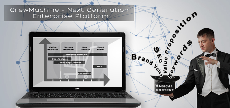 CrewMachine – A Next Generation Enterprise Platform that Powers Ecommerce Content